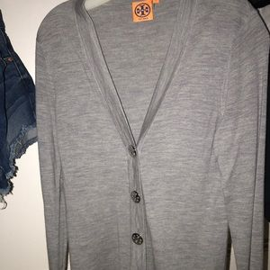 Tory Burch grey Cardigan